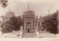 Hala, Sindh. Tomb of Hala, general view